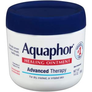 8折+额外9.5折 $9.73起Aquaphor 14 盎司万能修复膏促销