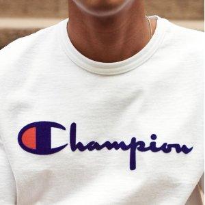 低至3.9折 经典Logo短袖£10收Amazon 运动服饰、鞋履专场 收Puma、Vans、Champion