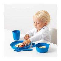 Ikea 儿童塑料餐盘6件套