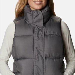 低至4折+免邮Columbia官网 特价区户外夹克、防寒背心等折上折