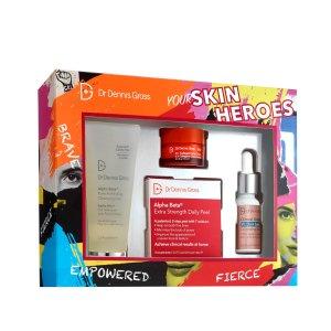 Dr Dennis Gross SkincareWorth $98Your Skin Heroes Kit 180ml (Worth $98)