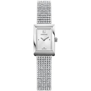 Swarovski银色手表