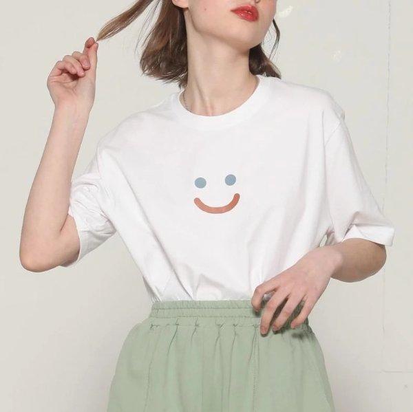 Happy Face Short Sleeve T恤