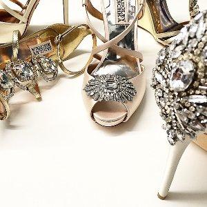 额外7折  不止是婚鞋Badgley Mischka 美鞋热卖 收最美钻尾
