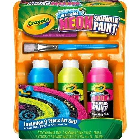 霓虹水彩路面涂鸦套装