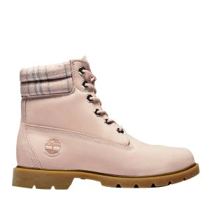 TimberlandLinden 粉色防水靴