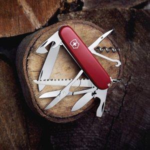 折后仅€26.99 原价€37Victorinox 瑞士军刀经典款 集15种功能于一身 人手一个