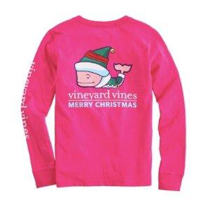 低至3折 T恤降至$11.99起Vineyard Vines 儿童特价区服饰折上折