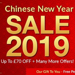 低至3折+最高满减£70+£29.99赠品VitaminPlanet中国年折扣专场 护肤减脂只为新年新气象