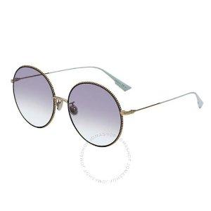DiorSOCIETY2F 紫罗兰色圆框墨镜