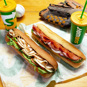 Buy 2 Get 1 FreeSubway Footlong Sandwiches Limited Time Offer