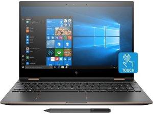 $1169.99HP Spectre x360 Laptop (i7-8550U, 4K, 8GB, 256GB)
