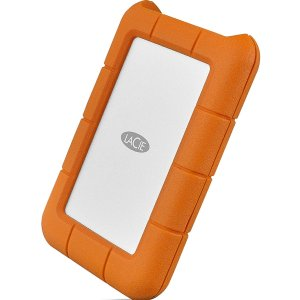 $109.95LaCie Rugged USB-C 4TB 移动硬盘