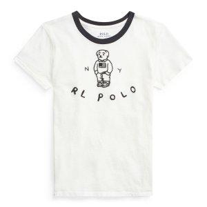 Ralph Lauren满$125享6折小熊T恤