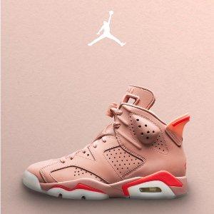 $255+包邮新品上市:女生专享Air Jordan 6 Aleali May 联名设计款