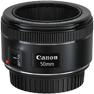 现价£106(原价£129.99)Canon 佳能 EF 50mm f/1.8 STM 大光圈定焦镜头