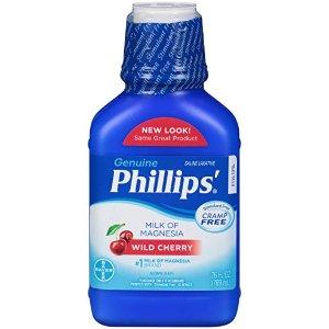 $6.94(原价$14.42)Phillips' 便秘口服剂 769ml 樱桃味
