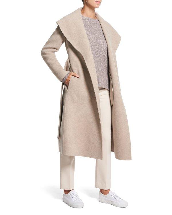 长款羊毛外套