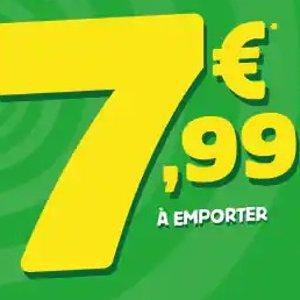 全场中/大号披萨一律€7.99Domino's Pizza 疯狂星期2/4活动上线 便宜好吃 不用做饭啦