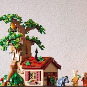 $139.99+赠品LEGO乐高官网 Ideas系列—小熊维尼 21326 现货