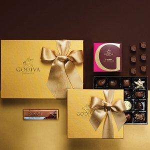 低至7折 节日串门好礼GODIVA 精选巧克力折扣区促销