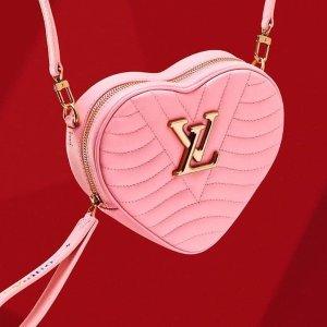 粉红卡包仅£130 桃心围巾上新Louis Vuitton 情人节绝美礼物指南 最佳心意百镑就收