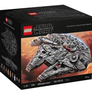 《小欢喜》乔英子同款LEGO 千年隼号模型星球大战版75192热卖 超酷超帅