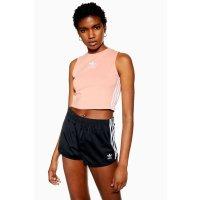 Adidas 粉色小背心