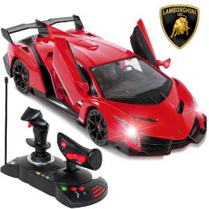$31.99 + 包邮 3色可选 更真实驾驶体验Lamborghini Veneno 兰博基尼官方授权1:14复刻遥控车