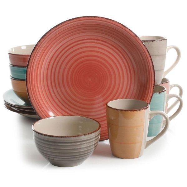 陶瓷餐具12件套