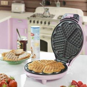 低至4折 仅€17收封面款Amazon 三明治华夫饼机热促 3分钟轻松搞定早餐 仪式感满分