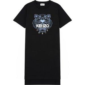 Kenzo虎头T恤裙