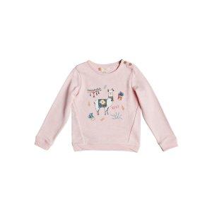 Roxy小童羊驼图案卫衣
