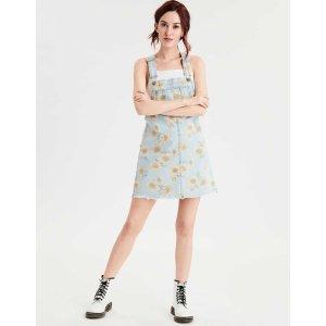 AEOAE Denim Dress Overall