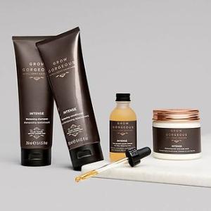 低至75折 送丰盈润发乳30mlGrow Gorgeous 强效生发套组 强效精华+发膜+洗发露+护发素