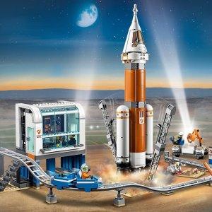 8折入手 $13.99起乐高 城市太空系列新品热卖 实现孩子的宇航梦想