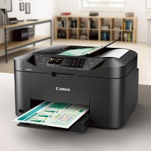 $64.99 无税包邮Canon MAXIFY MB2120 无线彩色 一体式打印机