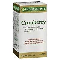 Nature's Bounty 蔓越莓胶囊 60粒