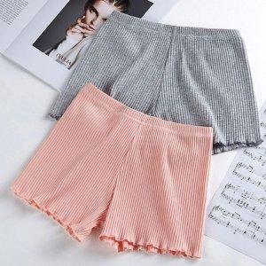 仅€2.91/条 短裤短裙随心穿少女心打底裤 轻薄柔软 高腰包腹 细螺纹超服帖 性价比高!