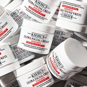 Kiehl's防晒+保湿,含角鲨烷等!防晒高保湿霜 SPF 30 50ml
