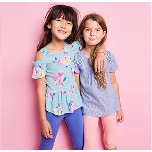 $5起 有惊喜球、发卡等上新:OshKosh BGosh 婴儿、儿童T恤、短裤、打底裤等优惠