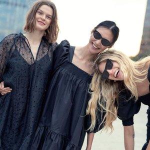 低至3折 €8收百搭小黑裙H&M 黑色系专场 夏末初秋穿搭公式 提前预定时尚弄潮儿C位