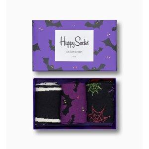Happy Socks万圣节主题礼盒 袜子x3