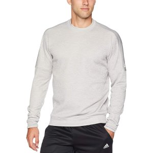 低至3.5折+包邮adidas Athletics 男子运动长袖上衣促销