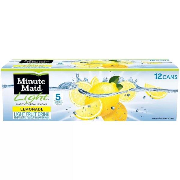 罐装少糖柠檬汁 12罐装