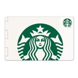 现价$25.99(原价$28.99)星巴克 $10 礼品卡3张限时优惠