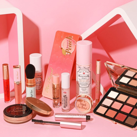 50% OffToo Faced Selected Tutti Frutti and Peaches & Cream Sale