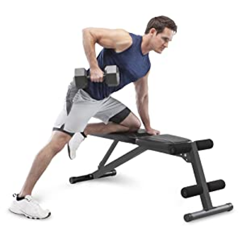 Marcy Multi-Position Workout Utility Bench for Home Gym Weightlifting and Strength Training