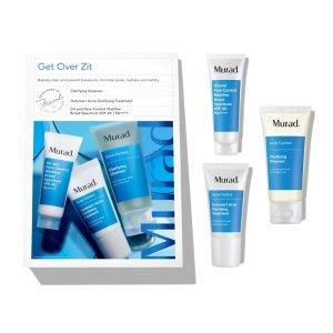 Murad$55 valueGet Over Zit Kit