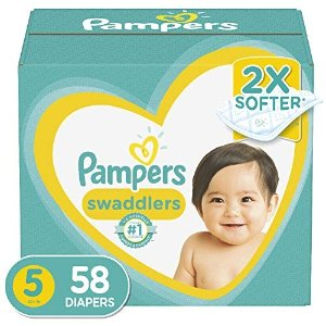 Pampers通过subscribe&save结账纸尿裤 Size 5 58片